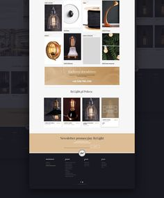 Few Years ago we had a pleasure to design first version of ByLight,pl online store. Here's the most recent redesign of ByLight online shopping platform.