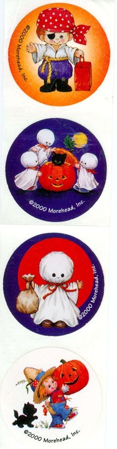 Stickers y Clings Halloween