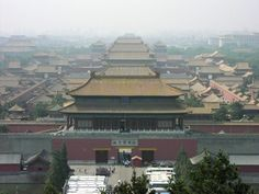 The Forbidden city in Beijing, China was built between 1406 and 1420 and located in the middle of Beijing; countless lives have been lost here, now functions as the Palace Museum. The gates to the city are sealed up at sundown and most activity is reported after this  - reports of  concubines being seen roaming the streets, a dark-haired woman is frequently seen here with no face, shadow figures, voices and footsteps heard