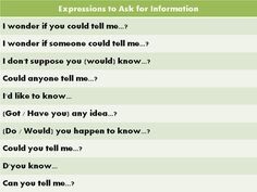 Forum | Learn English | 10 Common Expressions to Ask for Information | Fluent Land