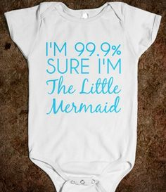 i'm 99.9% sure i'm the little mermaid one-piece