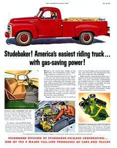 1955 Studebaker Truck Ad-