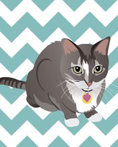 Custom Portrait of YOUR Pet! | Erin Rea Design