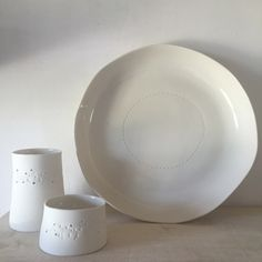 """Image of Plat creux collection """"point"""""""