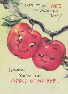 1950s Vintage Gibson Greeting Card