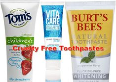 cruelty free toothpa