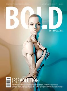 BOLD THE MAGAZINE, 03 April 2012 on Magpile / Applying prevalent beauty ideals to humanoid robots? Or how our ideals of tech performance turn to demands of human capabilities?
