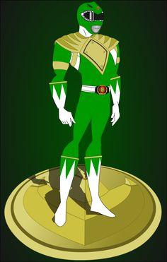 MMPR Green Ranger - BT by jay-tigran Power Rangers Fan Art, Power Rangers Series, Power Rangers Dino, Mighty Morphin Power Rangers, Nerd Art, Nerd Geek, Green Power Ranger, Power Rangers Megaforce, Power Rengers