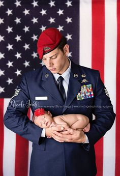 military newborn...my brother in-law and niece!! :) the famous Joshua and Kaila Coulombe!!