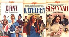 Sunfire Romances - I loved these as a pre-teen! Anyone else remember these books? Perhaps where a love of historical romance began...