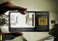 tarjetas de presentacion transparentes