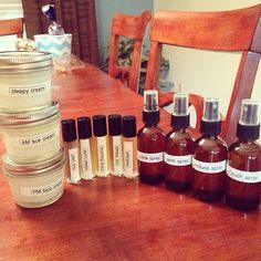 So many of my favorite recipes for using Young Living essential oils are now on my blog! Including many of these!