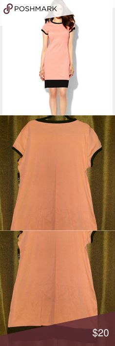 NY&C. Cute T-Shirt dress Sz 2X/18-20 NY&C Dress T-shirt in Salmon Rose color. 100% Cotton.  Pair this dress up with comfortable wedges, jewelry & a sexy handbag to complete your style. New w tags. Happy shopping! New York & Company Dresses Midi