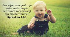 Spreuken 10:1 - dailyverses.net