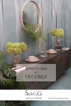 Discovering the Trends at Decorex What did we discover? Interior Blogs, Interior Inspiration, Interior Design, Gray Furniture, Furniture Design, Small Rooms, Cool Designs, Interiors, Colours