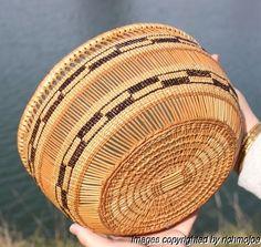 Very Fine Large Old Northern California HUPA Yurok Karok Indian Basket C1900 | eBay