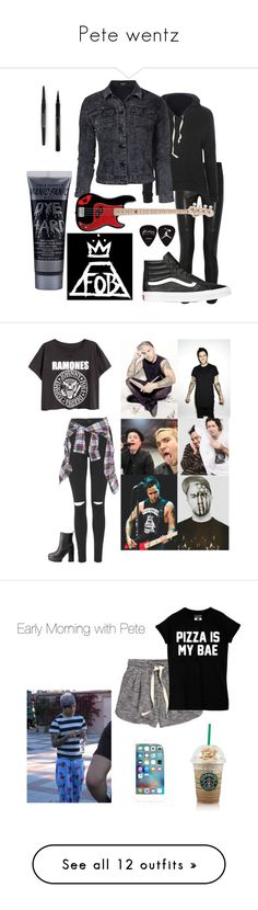 """Pete wentz"" by jessi-kis ❤ liked on Polyvore featuring Isabel Marant, Glamorous, Sisters Point, Vans, Elizabeth Arden, Smashbox, Topshop, R13, Charlotte Russe and H&M"