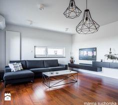 projekt mieszkania w Luboniu - Salon, styl minimalistyczny - zdjęcie od marina suchorska architektura wnętrz modern living room | design | home inspiration | modern home | house ideas