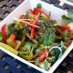 Thai-Inspired Marinated Broccoli Salad