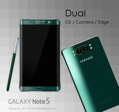 Samsung Galaxy Note 5 Dual Camera Specs Visualised Before Release