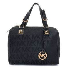 58 best michael kors grayson medium mk logo monogram satchels black rh pinterest com