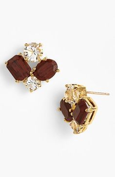 kate spade new york cluster earrings available at #Nordstrom