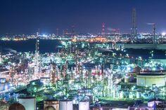四日市工場夜景/三重県