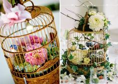 the perfect diy wedding decoration ideas cages