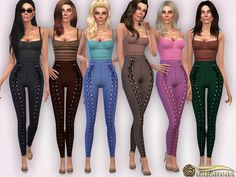 Mesh By Harmonia Found in TSR Category 'Sims 4 Female Everyday'