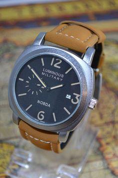 ef8029f1e16 Mens Causal Quartz Diver Military Style Watch