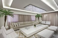 7 Fascinating Cool Ideas: False Ceiling Design For Reception false ceiling bedroom paint colors.Contemporary False Ceiling Design false ceiling wedding new years eve. False Ceiling Living Room, Bedroom Ceiling, Home Living Room, Living Room Designs, Living Room Decor, Big Living Rooms, Living Area, Living Spaces, False Ceiling Design