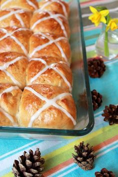 Easy and delicious Hot Cross Bun recipe for Easter.