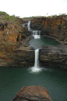 Photo about Water of the Mitchell River in the Kimberley Region of Western Australia falling down in cascades. World Photography, Vintage Photography, Photography Tips, Portrait Photography, Mitchell Falls, Places Around The World, Around The Worlds, Places To Travel, Places To Visit