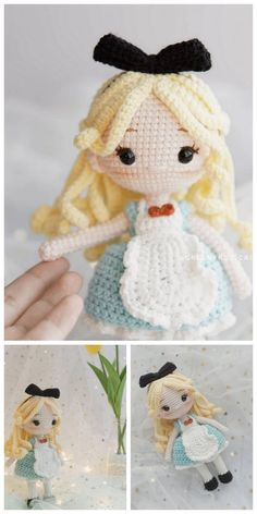 Fantastic Totally Free amigurumi doll tutorial Popular Amigurumi Rose Doll Free Pattern – Amigurumi Free Patterns And Tutorials Amigu Crochet Kawaii, Crochet Diy, Crochet Crafts, Crochet Projects, Crochet Dolls Free Patterns, Crochet Doll Pattern, Amigurumi Patterns, Amigurumi Tutorial, Crochet Doll Tutorial