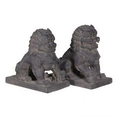 Set of 2 Chinese Temple Dogs