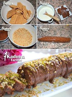 Çikolatalı Bisküvi Rulosu Tarifi