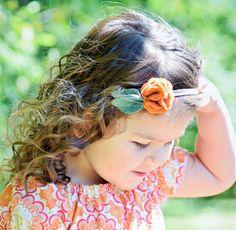 23705b17cfbb Felt Headband Fall Headband Flower Headband by VivibellesBows. Vivibelle s  Bows