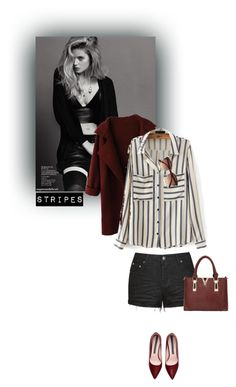 """""""Stripes"""" by tasniaisacutie666 ❤ liked on Polyvore featuring WithChic, Ally Fashion and River Island"""