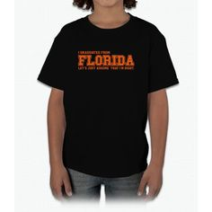 I Graduated From Florida Young T-Shirt