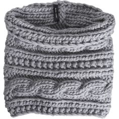 cable knit cowl