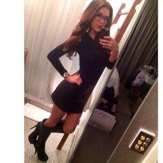 Leather skirt!!
