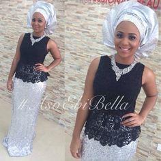 Sequin aso ebi trend on pinterest aso nigerian weddings and ankara