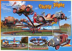 technical park amusement ride chitty fly7
