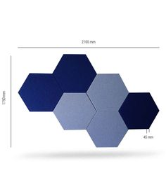 Hexagon Shape Wall Panel With Wooden Frame Backing. An Ideal Wall Absorbent  That Can Be Customized In Various Sizes. Effectively Absorbent And Reduce  Sound ...