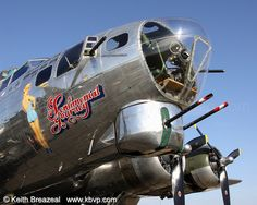 B-17 Sentimental Journey #NoseArt © Keith Breazeal by Keith Breazeal Photography, via Flickr