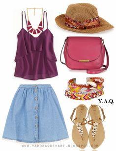 Y. A. Q. - Blog de moda, inspiración y tendencias: [Y ahora qué me pongo en] Un día muy caluroso