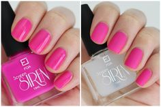 Limited Edition Screen Siren Nail Enamel   How To Nail Art with Cosmetic Cupcake - Diamonds are a Girl's Best Friend swatch