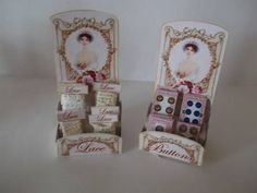 Lace and Button Displays (DOWNLOAD)