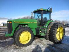 1997 John Deere 8300 MFWD - Mar 23, 2015 - ONLINE ONLY AUCTION - Prairie Farm, Wisconsin.