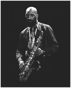 """musician-photos: """"Sonny Rollins (photo by Jan Persson) """" Jazz Artists, Jazz Musicians, I Love Music, Music Is Life, Jazz Cat, Sonny Rollins, Musician Photography, Free Jazz, Cool Jazz"""